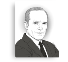 Agent Coulson Canvas Print