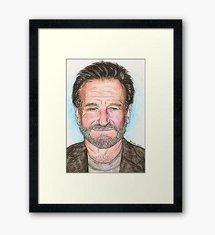 Robin Willams Framed Print