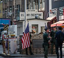 Check Point Charlie, Berlin by fotosic
