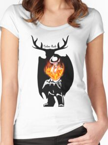 Ember Rush - Max's fury Women's Fitted Scoop T-Shirt