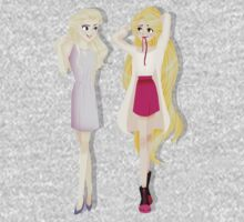 Princesses' Fabulous Hair Baby Tee
