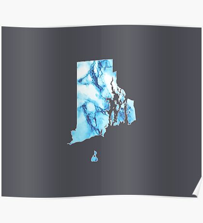 Marble Rhode Island Poster
