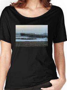 Ventura Ocean Wave Storm Pier Women's Relaxed Fit T-Shirt