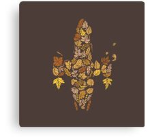 I am a leaf on the wind... Canvas Print