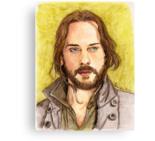Ichabod Crane Canvas Print