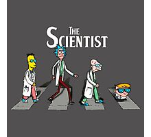 The Scientist Photographic Print