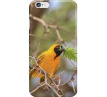 Golden Weaver - African Peace Symbol iPhone Case/Skin
