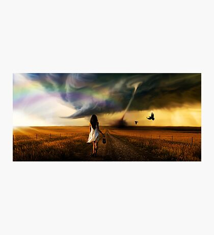 Somewhere Over the Rainbow  Photographic Print