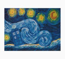 Starry Tardis Night Kids Clothes
