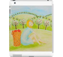 Apple girl iPad Case/Skin