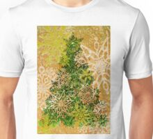 Christmas Tree and snow flakes - Knitting Pattern Unisex T-Shirt