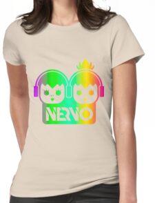 NERVO RAINBOW Womens Fitted T-Shirt