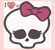 love for monster high Kids Tee