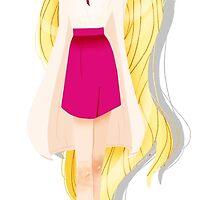 Princesses' Fabulous Hair - Rapunzel by arumst