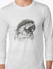 Ara ararauna G026 by schukina Long Sleeve T-Shirt