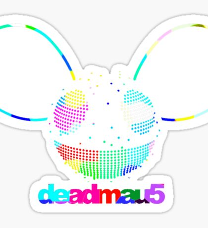 DEADMAU 5 RAINBOW Sticker