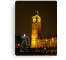 Big Ben ticks Goodnight Canvas Print