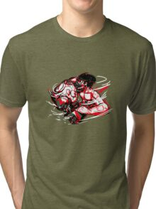 Shingeki No Titanfall Tri-blend T-Shirt