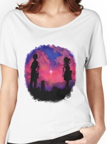 Anime sunset Women's Relaxed Fit T-Shirt
