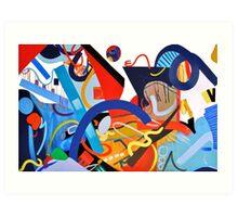 Abstract Interior #5 Art Print