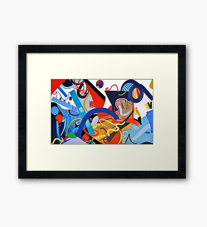 Abstract Interior #5 Framed Print