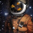 Astronauts and Goldfish by vinpez