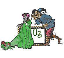 Ozma and The Scarecrow Photographic Print