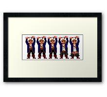 Guybrush Pants Framed Print