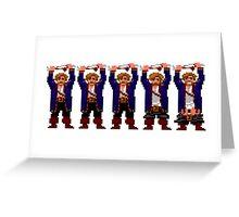 Guybrush Pants Greeting Card