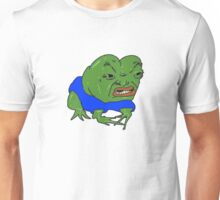 Pepe the Angry Frog Unisex T-Shirt
