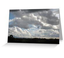 Storm Clouds over the Aventine Greeting Card