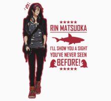 Free! - Rin Matsuoka T-Shirt by yukihoes