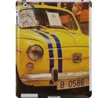 Classic SEAT 600 Car, 1950s Retro iPad Case/Skin