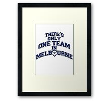 Melbourne Victory FC (South End) Framed Print