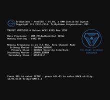 Von Braun BIOS - Shirt Edition by universalfreak