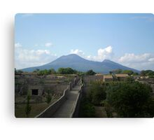 Pompeii after the Volcano Canvas Print