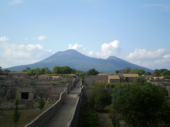 Pompeii after the Volcano by Mui-Ling Teh