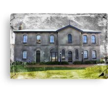 Spooky Old Mansion Canvas Print