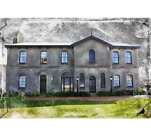 Spooky Old Mansion Photographic Print
