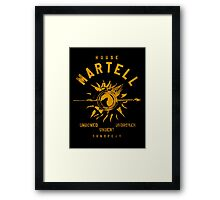 HOUSE MARTELL Framed Print