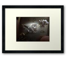 The Blooming, the Withering, and the Everlasting Framed Print