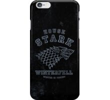 HOUSE STARK 1 iPhone Case/Skin