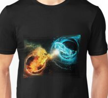 Water and fire horses Unisex T-Shirt