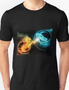 Water and fire horses T-Shirt