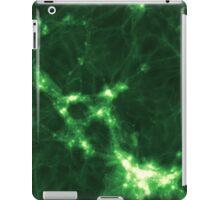 The Cosmic Web (Green) iPad Case/Skin