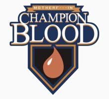 Champion Blood Shirt Kids Tee