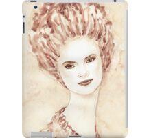 Young beautiful girl  iPad Case/Skin