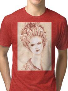 Young beautiful girl  Tri-blend T-Shirt