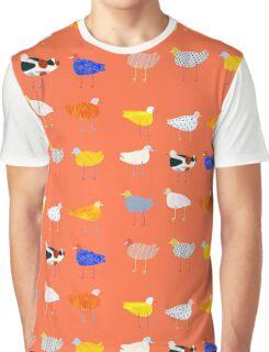 You Funky Bird Graphic T-Shirt