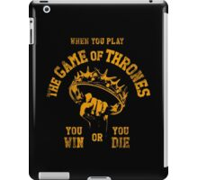 THE CROWN iPad Case/Skin